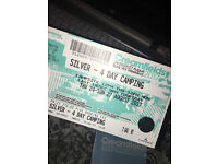 **£210 CREAMFIELDS 4 DAY SILVER CAMPING**