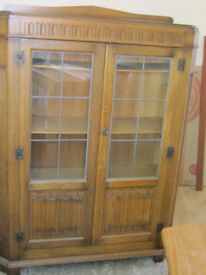 Early 20th century glass cabinet
