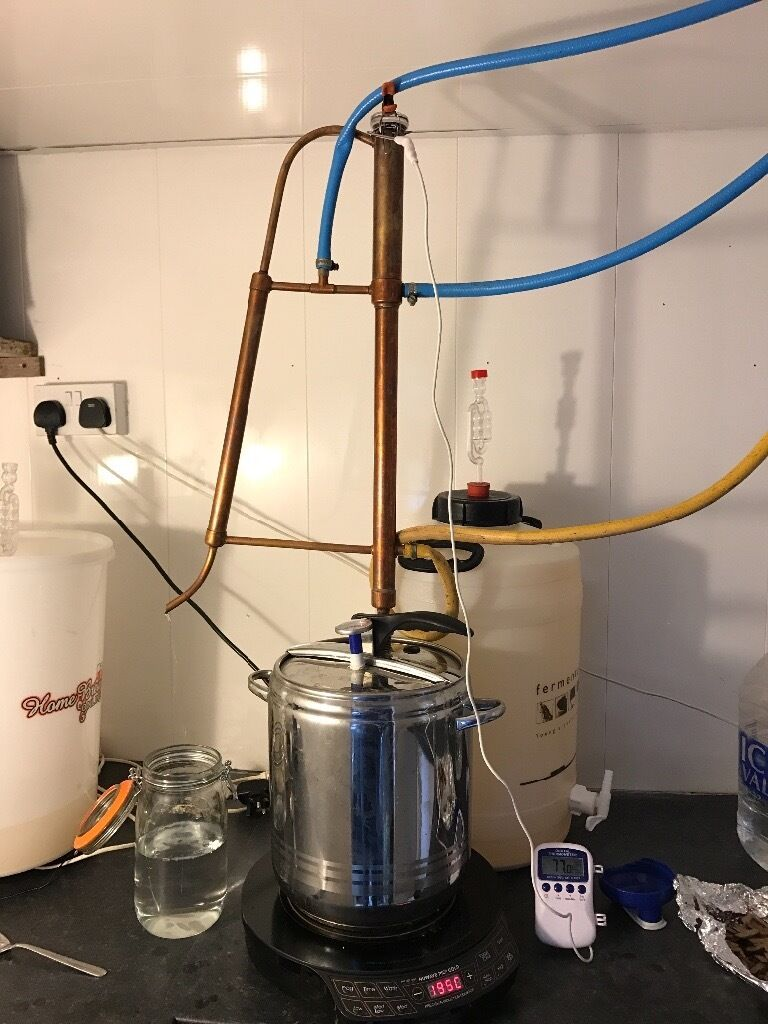 Copper head gin still with potin County AntrimGumtree - Selling my still as I longer need it, its in immaculate condition and can be used to make any spirit like gin,whiskey,vodka etc Will take reasonable offers