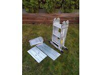 Folding Ladder Multi-purpose 11ft 3.