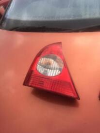 Renault Clio Back Light