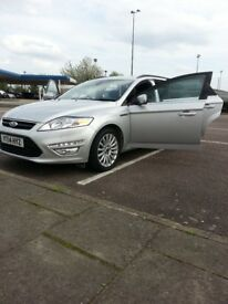 ford mondeo mk4 2. 0 TDCI very clean inside and out 30 £ road tax for one year low mls far years