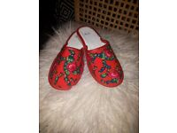 SLIPPERS FLORAL FOR WOMEN GIRLS