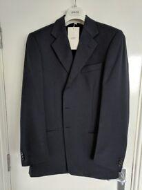 Navy blue Armani suit. Size 50R.
