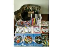 SONY DVD PLAYER + DVDS