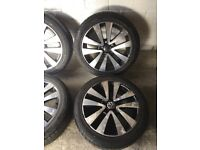 "GENUINE 17"" VW GOLF GTD SEATTLE ALLOYS"