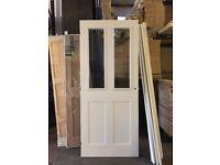 Internal Half Glazed FD30 - Fire Rated Doors- Smooth