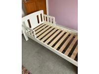 John Lewis 'Boris' toddler bed - white