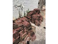 Redland plain roof tiles concrete