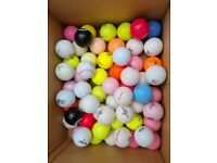 Various Coloured Limited Edition Golf Balls Some Rare