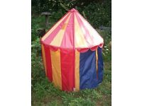 Childrens Circus Play Tent - OPEN TO OFFERS