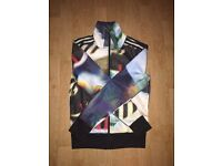 woman's adidas multicolour jumper