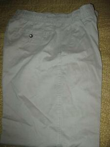 Mens Beige Cotton Pants    New w/o tags
