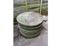 FREE Set of 6 Round Stepping Stones for Garden