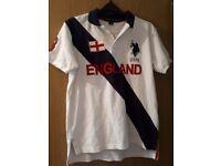 Ralph Lauren Polo Football Shirt England