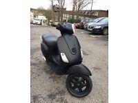 Matt Black 2005 Vespa Lx 50cc £599