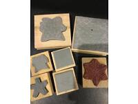 Christmas Card Making Stamps Embossing Tool