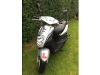 2012 SILVER SYM SYMPLY 50cc...12 MONTHS MOT