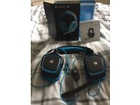 Barely used Boxed Logitech G430 Headset