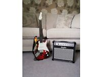 Wow Wee Paper Jamz Guitar, Strap and Amplifier