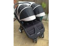 Baby Jogger City Mini Twin Pushchair used once