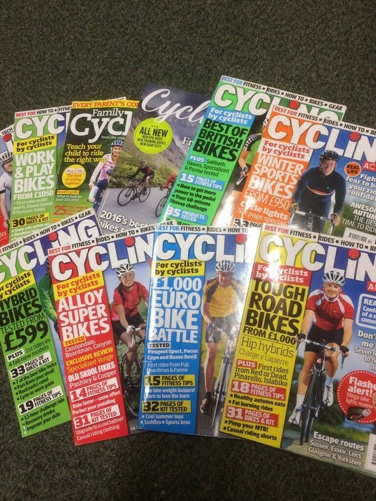 Cycling Active magazines