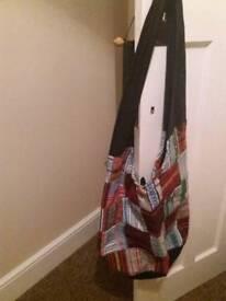 Boho ladies shoulder bag (patchwork)