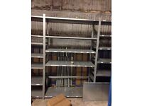 Industrial warehouse racking shelves Heavy duty // excellent condition