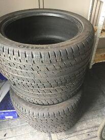 4xKumo Winter Tyre 245/40/18