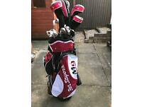 Men's golf clubs & bag. Ben Sayers M9