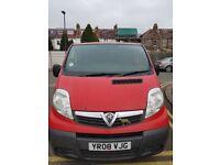 Vauxhall Vivaro Van 2700, Swb, 2008 2.0 Cdti,115 hp, turbo diesel