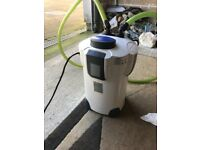 Nice external filter for fish tank full work and all clean with pipe and mediya look pic