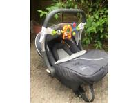 Silver Cross car seat. Birth until front facing seat (approx 18 months)