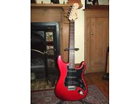 Fender Squire Candy Apple Red Guitar