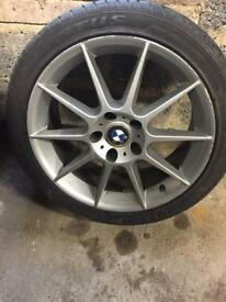 Bmw alloy wheels 5 stud off 8 series