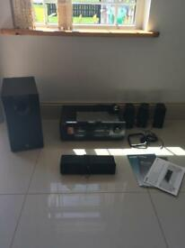 Yamaha surround sound system home system