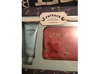 Fat Face Purse and Hand Lotion Set