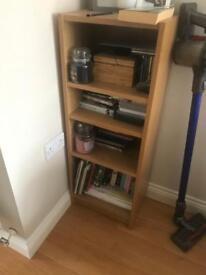 Ikea oak bookshelf