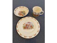 Royal Doulton 'Bunnykins' Children's Set - Bowl, Mug & Plate