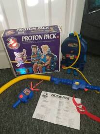 Ghostbusters protonpack boxed rare item