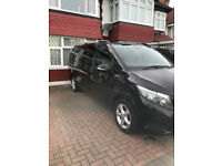Mercedes Viano 8 Seater Minicab/Uber/Taxi Ready- Black w/Power Sliding Doors