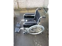 Wheelchair self propelled by enigma.