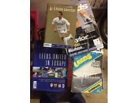 110+ Leeds football programmes 1980s to 2000s