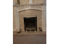FIRE SURROUND AND VALOR GAS FIRE