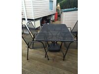 Kettler Mesh Style Table & Chairs