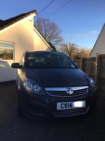 Vauxhall Zafira 2014 ecoFLEX Exclusiv