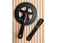 Sturmey Archer 48T Chainset Crankset for Single Fixed Track