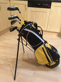 Boys golf clubs, inc stand bag