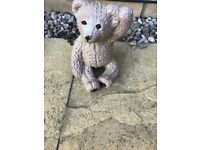 Teddy garden ornament
