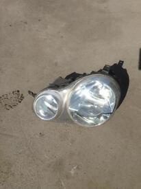 Vw polo left side headlamp